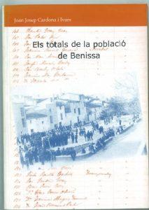 ELS TOTALS DE LA POBLACIÓ DE BENISSA