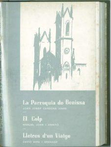 LA PARROQUIA DE BENISSA - EL CALP - LLETRES D´UN VIATGE