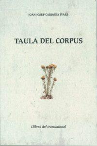 TAULA DEL CORPUS
